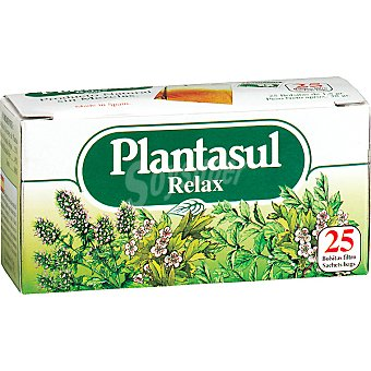 PLANTASUL Infusión relajante Envase 25 unidades