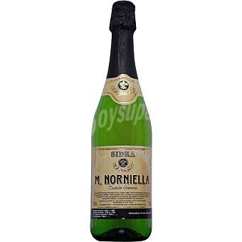 Norniella M. sidra extra achampanada Botella 70 cl