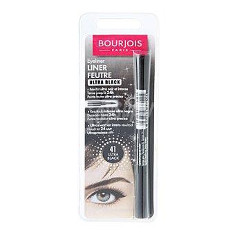 Bourjois Paris Contorno de ojos eye liner feutre ultra black 1 ud