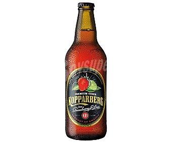 Kopparberg Sidra premium sueca con un toque de fresa y lima Botella de 50 cl