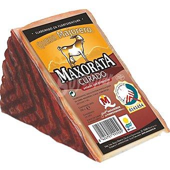 Maxorata Queso curado untado con pimentón D. O. majorero cuña 380 g