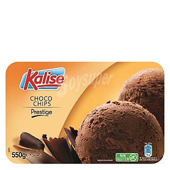 Kalise Tarrina de helado Prestige chocochips sin gluten 550 g