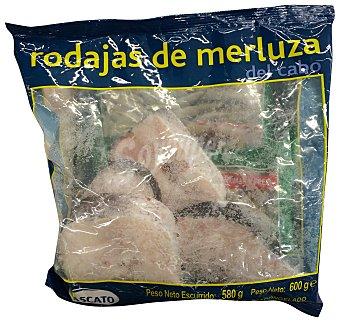 Mascato Merluza congelada rodaja Paquete 580 g peso escurrido