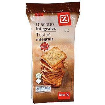 DIA Biscotes integrales Paquete 800 gr
