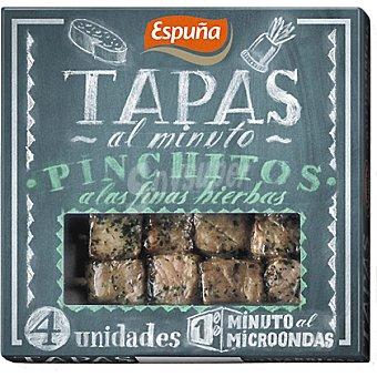 Espuña Pinchitos a las finas hierbas Envase 80 g (4 unidades)