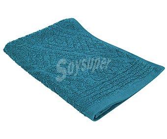 Actuel Toalla de tocador 100% algodón, color azul con diseño en relieve, densidad de 400g/m² 1 unidad