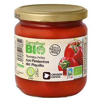 Carrefour Bio Tomate frito con pimientos piquillo 325 g