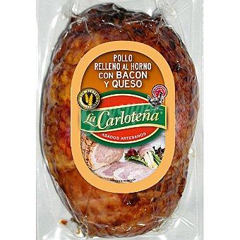 La Carloteña pollo relleno al horno con bacon y queso sin gluten pieza  600 g