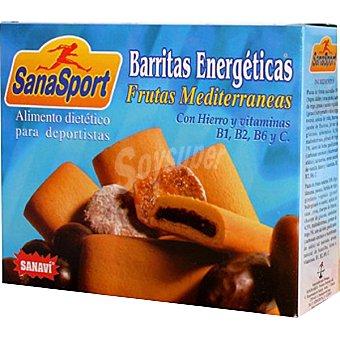 Sanavi Barritas energéticas frutas mediterráneas Estuche 180 g