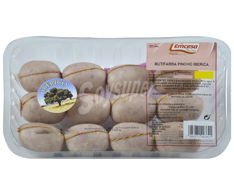 Emcesa bandeja de butifarra ib rica de pincho elaborada for La iberica precios