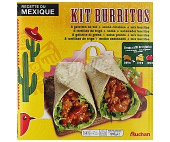 Auchan Kit para hacer burritos 620 gramos