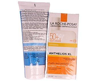 La Roche-Posay Crema solar con factor de protección 50 especial para alergias solares o pieles sensibles 50 mililitros + after sun de regalo