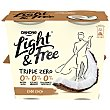 Light&free yogur con coco 0% M.G Pack 4 x 115 g Danone