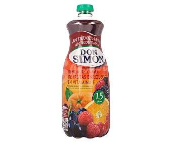Don Simón Néctar multifrutas (naranja, mora, uva y frambuesa) antioxidante Botella de 1,5 litros