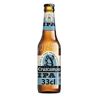 Cruzcampo Cerveza rubia IPA 33 cl