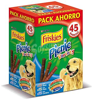 Friskies Purina Picnic Variety Pack 3x15 Snacks Perro 378 g