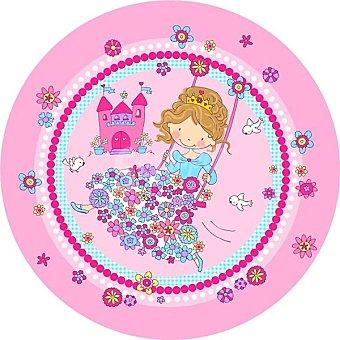 Papstar Olato de cartón redondo Princess Friend 23 cm Paquete 10 unidades