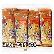 Aperitivo de maíz Super Zapitos sin gluten y sin lactosa Pack de 8 ud. de 6 g Carrefour Kids