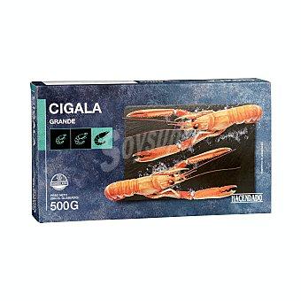 Hacendado Cigala congelada cruda grande (7/8 piezas) Bandeja 500 g