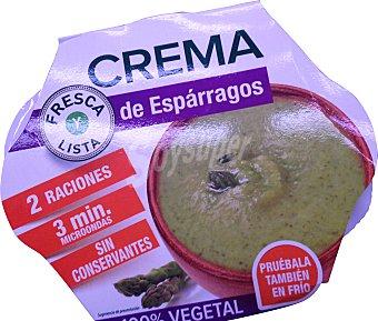 NATURA.COM Crema líquida natural espárragos refrigerada (sin conservantes) TARRINA 620 g