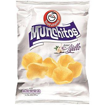 MATUTANO Munchitos Snack de patata sabor al ajillo bolsa 70 g Bolsa 70 g