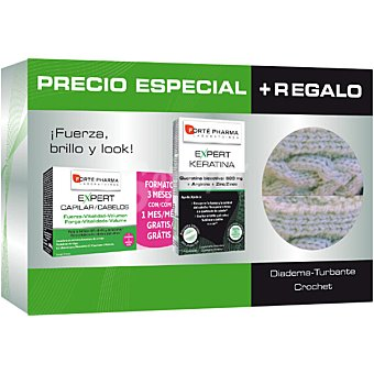 Forte Pharma Expert Capilar y Expert Keratina tratamiento 3 meses 1 unidad 1 unidad