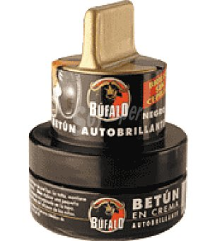 Bufalo Crema para calzado color Negro 40 ml