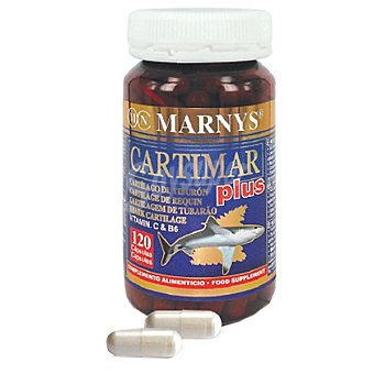 MARNYS Cartimar Plus cartílago de tiburón para las articulaciones envase 120 capsulas