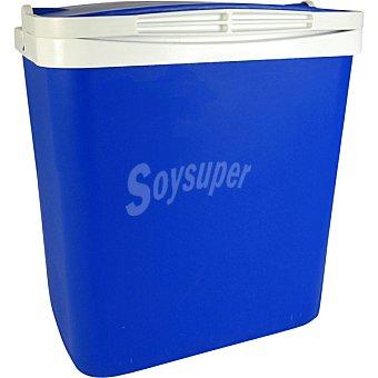 CAMPOS Nevera Rígida de plástico en color azul 29 litros
