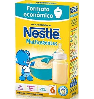 Nestlé Papillas Papilla multicereales 500 G