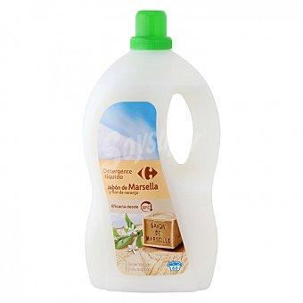 Carrefour Detergente líquido con jabón de Marsella y flor de naranjo 66 lavados 66 lavados