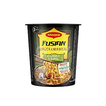 Maggi Pasta oriental (fideos fritos) con sabor a curry 61,5 gramos