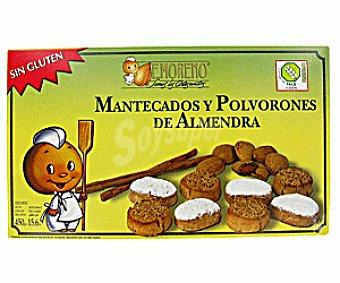 E.moreno Mantecados y Polvorones de Almendra Sin Gluten 450g