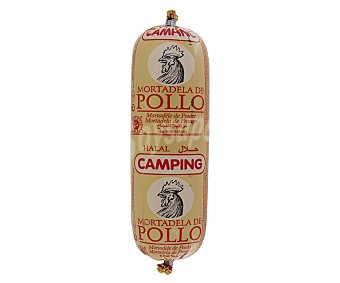 CAMPING Mortadela Pollo Halal 400 Gramos