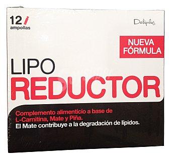 Deliplus Ampollas lipo reductor (l-carnitina y piña) Caja de 12 unidades