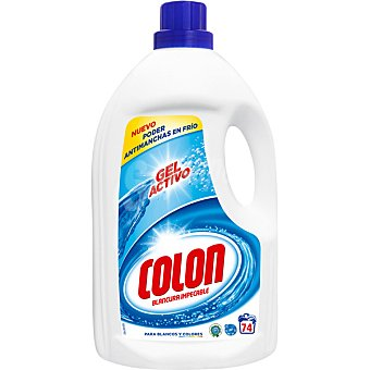 Colón Detergente maquina liquido gel concentrado Botella 74 dosis