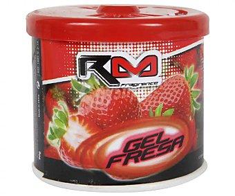 Rolmovil Ambientador en gel para coche, en envase de lata con dosificador y con olor a fresa rolmóvil