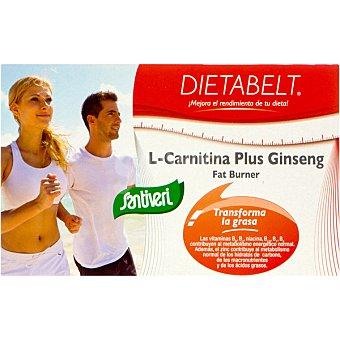 SANTIVERI DIETABELT L-Carnitina Plus Ginseng Acción quemagrasas Estuche 40 capsulas