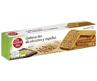 Cereal Bio Galletas de sésamo y espelta ecológicas Envase 170 g