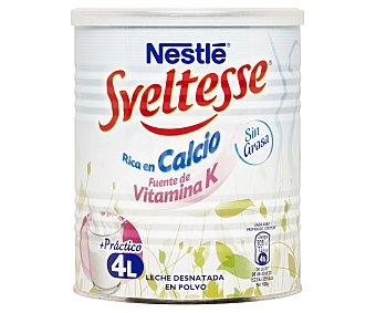Sveltesse Nestlé Leche desnatada en polvo rica en calcio Bote 400 g