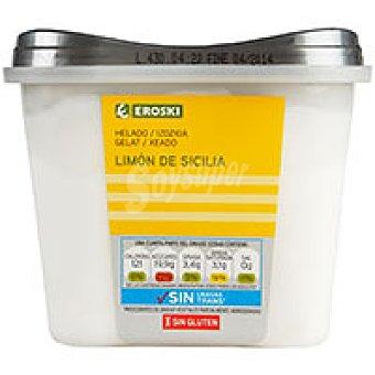 Eroski Helado de limón Tarrina 500 ml