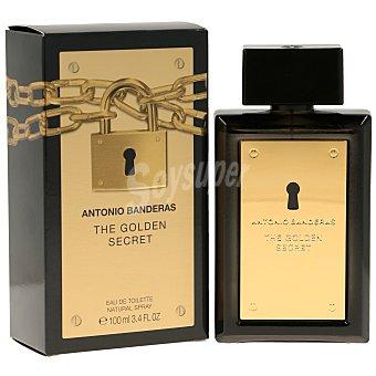 Antonio Banderas Eau de toilette golden secret vaporizador 100 ml