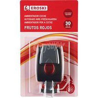 Eroski Ambientador coche frutos rojos Pack 1 unid