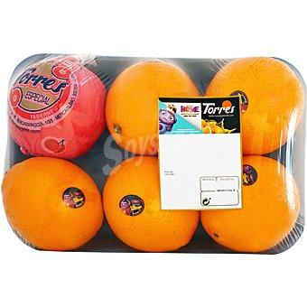 Torres Naranjas de mesa Bandeja de 1,7 kg peso aprox.