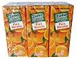 Zumo naranja exprimida 100% 6 unidades de 200 ml Hacendado