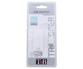 TNB ADAUSBRJ45 Adaptador Usb a RJ45, Compatible con iOS y Windows 45