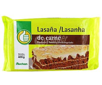 Productos Económicos Alcampo Lasaña de carne 400 gramos