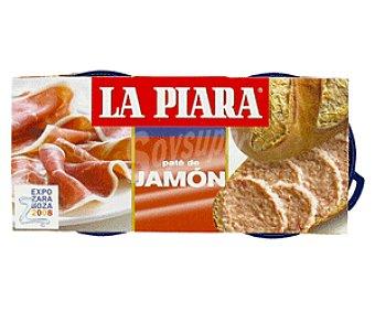 La Piara Paté de Jamón 2x84g
