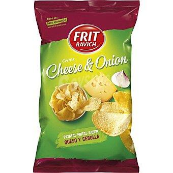 Frit Ravich Patatas fritas sabor queso y cebolla Bolsa 125 g
