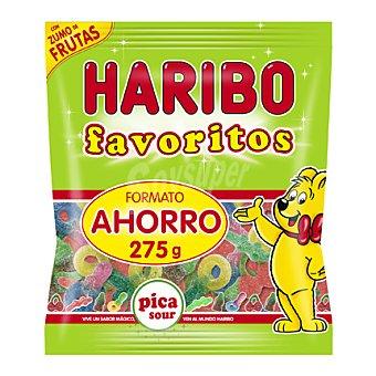 Haribo Gominolas pica sour con zumo de frutas 275 g